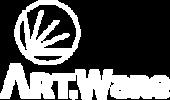 Logo ArtWare branco